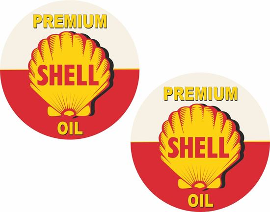 Picture of Shell Premium Decals / Sticker