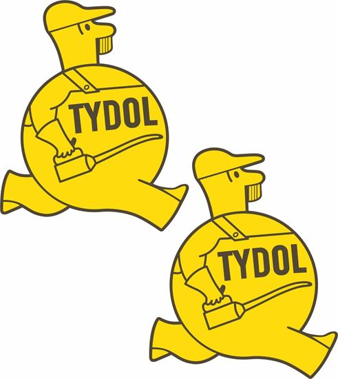 Picture of Tydol Motor Oil Decals / Stickers