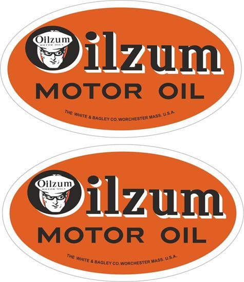 Picture of Oilzum Motor Oil Decals / Sticker