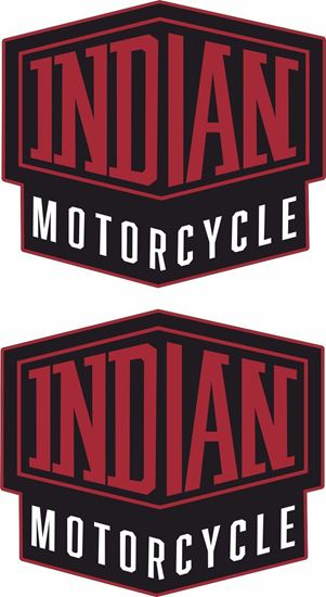 Picture of Indian Motorcycle Decals / Stickers