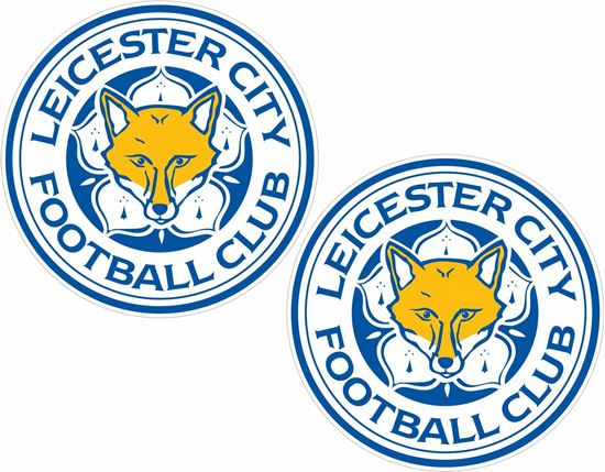 Picture of Leicester City FC Decals / Stickers