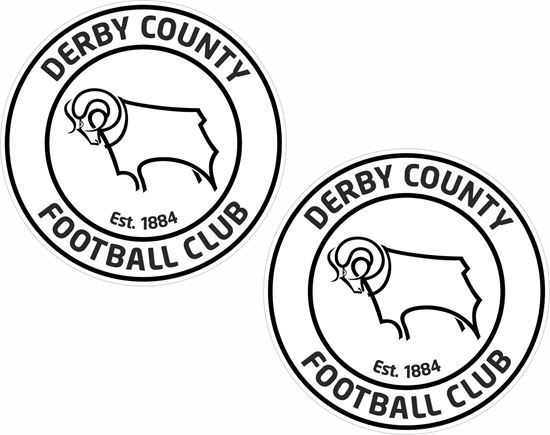 Picture of Derby County FC Decals / Stickers