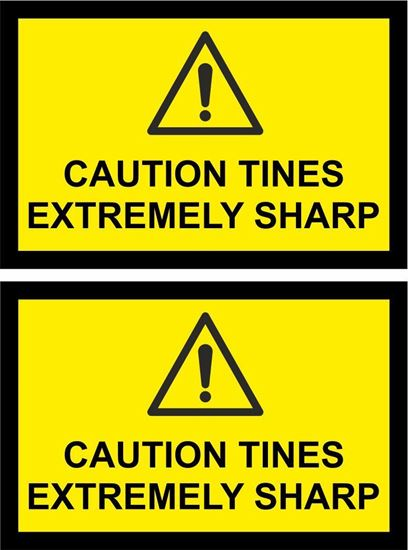 Picture of Agricultural Machine Safety replacement Decals  / Stickers