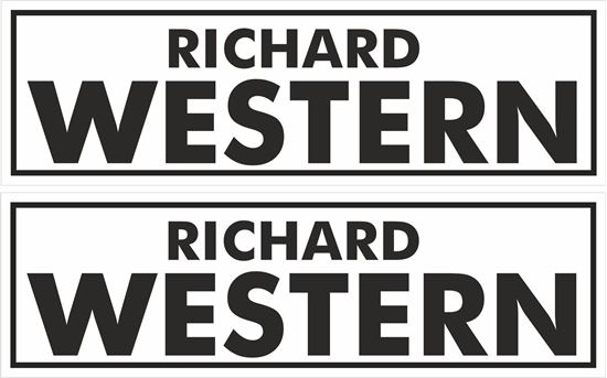 Picture of Richard Western  Stickers / Decals
