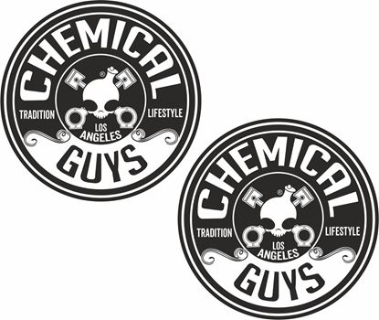 Picture of Chemical Guys Decals / Stickers