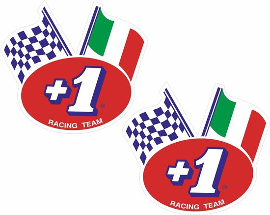 Picture of +1 Racing Team Decals / Stickers