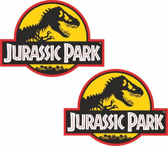 Picture of Jurassic Park Decals / Stickers
