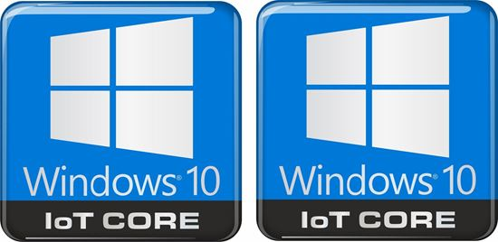 Picture of Windows 10 IoT Core Gel Badges