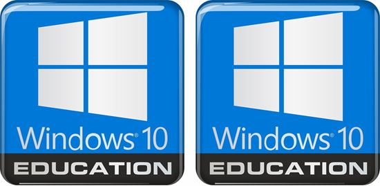 Picture of Windows 10 Education Gel Badges
