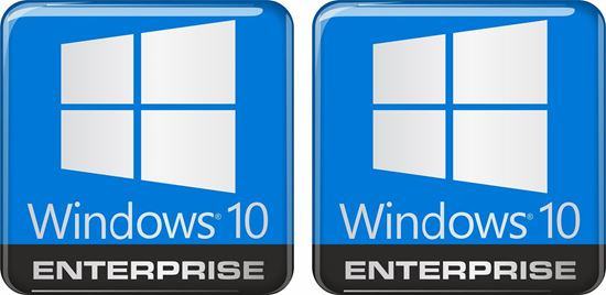 Picture of Windows 10 Enterprise Gel Badges