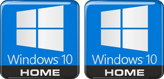 Picture of Windows 10 Home Gel Badges