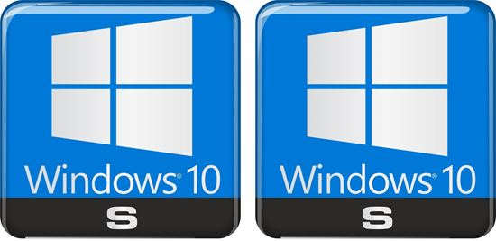 Picture of Windows 10 S Gel Badges