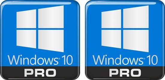 Picture of Windows 10 Pro Gel Badges