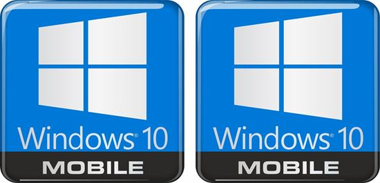Picture of Windows 10 Mobile Gel Badges