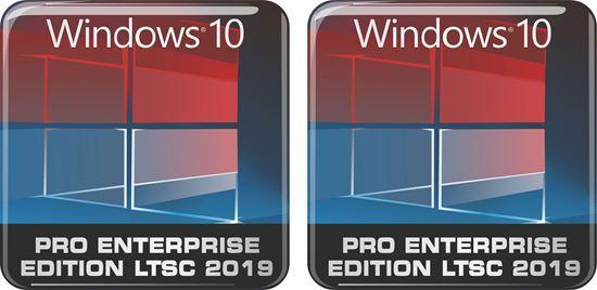 Picture of Windows 10 Pro Enterprise Edition LTSC 2019 Gel Badges