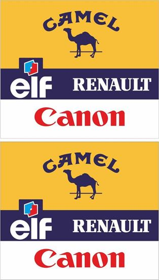 Picture of Williams Renault F1 Decals / Stickers