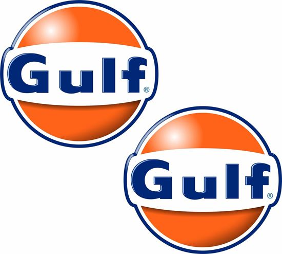 Picture of Gulf Decals / Stickers