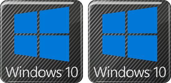 Picture of Windows 10 Gel Badges