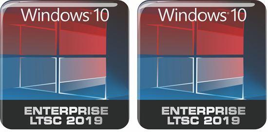 Picture of Windows 10 Enterprise Edition LTSC 2019 Gel Badges