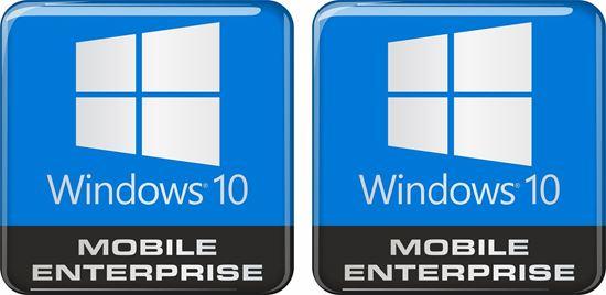Picture of Windows 10 Mobile Enterprise Gel Badges