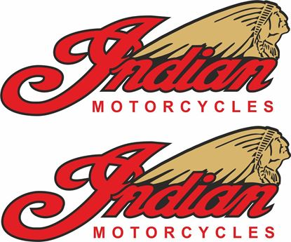 Picture of Indian Motorcycles Decals / Stickers