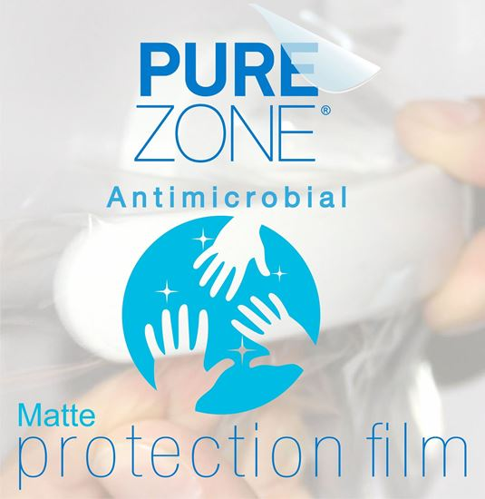 Picture of MATTE Anti-microbial Protection Film 1370mm