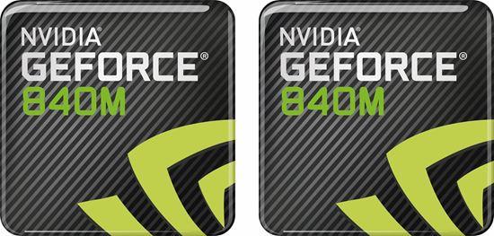 Picture of Nvidia Geforce 840M Gel Badges