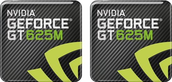 Picture of Nvidia Geforce GT 6254M Gel Badges