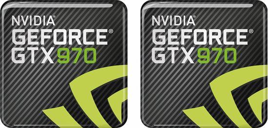 Picture of Nvidia Geforce GTX 970 Gel Badges