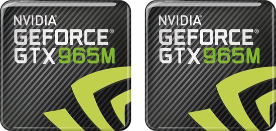 Picture of Nvidia Geforce GTX 965M Gel Badges
