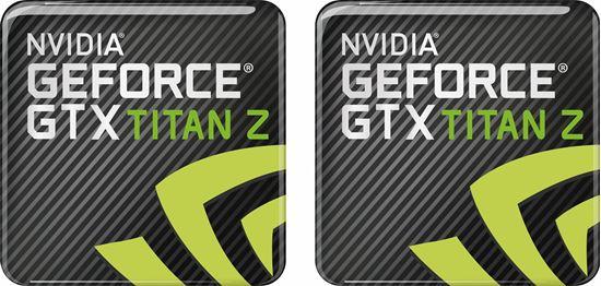 Picture of Nvidia Geforce GTX Titan Z Gel Badges