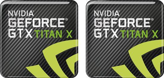 Picture of Nvidia Geforce GTX Titan X Gel Badges