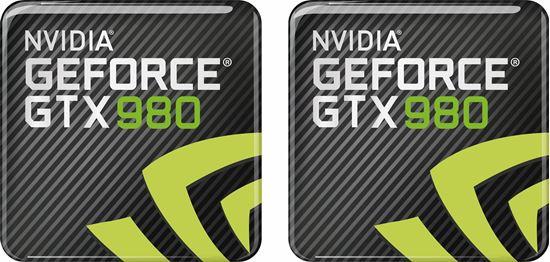 Picture of Nvidia Geforce GTX 980 Gel Badges