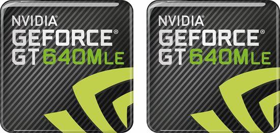Picture of Nvidia Geforce GT 640MLE Gel Badges