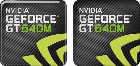 Picture of Nvidia Geforce GT 640M Gel Badges