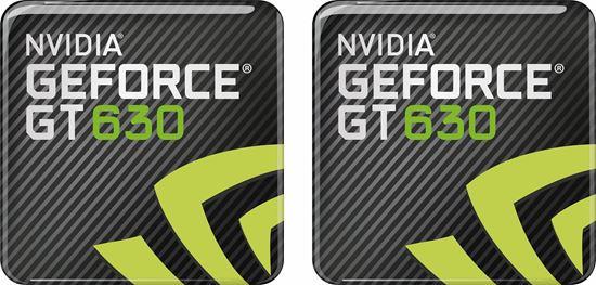 Picture of Nvidia Geforce GT 630 Gel Badges