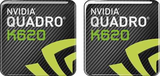 Picture of Nvidia Quadro K620 Gel Badges
