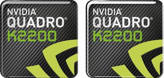 Picture of Nvidia Quadro K2200 Gel Badges