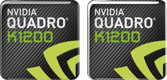 Picture of Nvidia Quadro K1200 Gel Badges