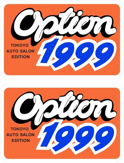Picture of Option 1999 (Tokyo Auto Salon 1999) Decals / Stickers