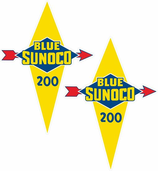 Picture of Sunoco Blue 200 Decals / Stickers