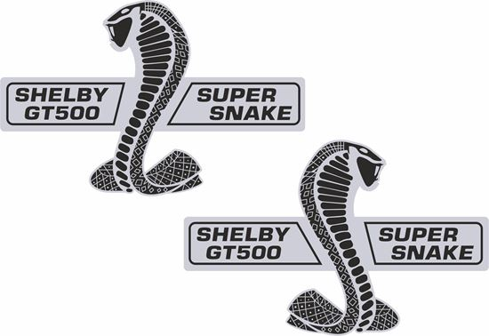 Picture of Ford Shelby GT500 Super Snake Decals / Stickers