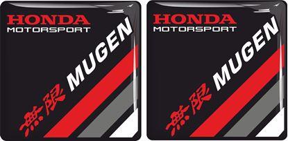 Picture of Honda Motorsport Mugen Gel Badges  50mm