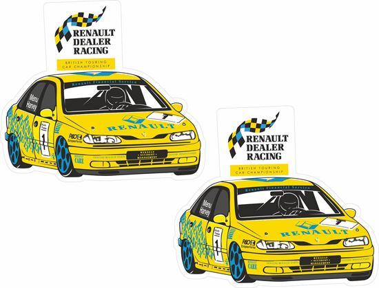 Picture of Renault Dealer Racing  British Touring Car Championship Decals / Stickers
