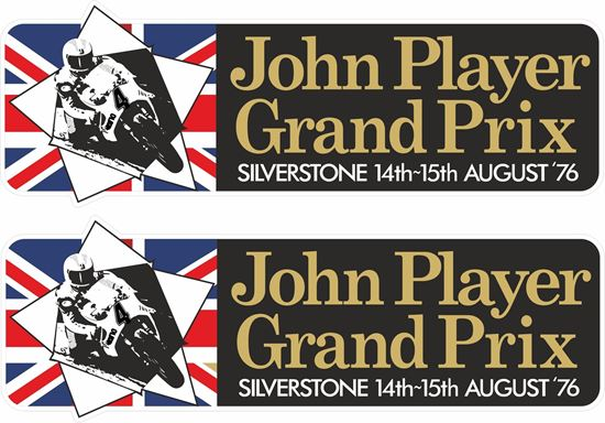 Picture of John Player Grand Prix Silverstone 1976 Decals / Stickers