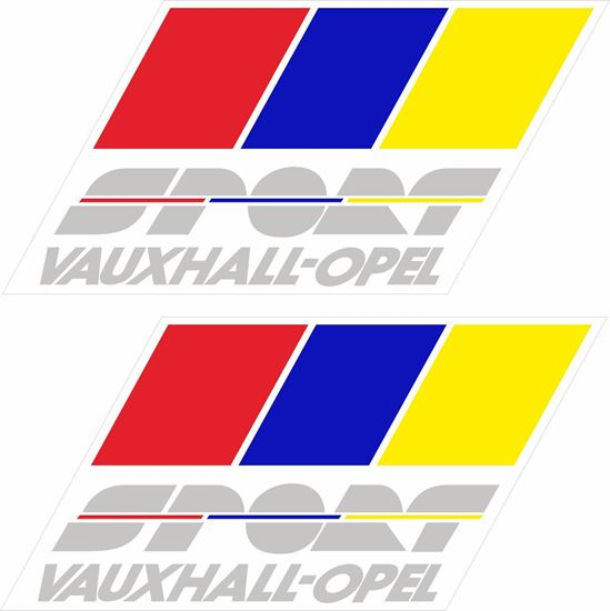 Picture of Opel Vauxhall Sport Decals / Stickers