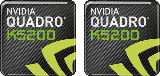Picture of Nvidia Quadro K2500 Gel Badges