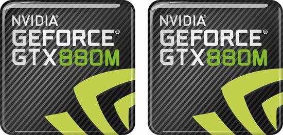 Picture of Nvidia GTX 880M Gel Badges