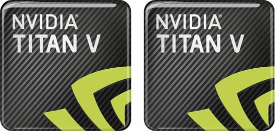 Picture of Nvidia Titan V Gel Badges