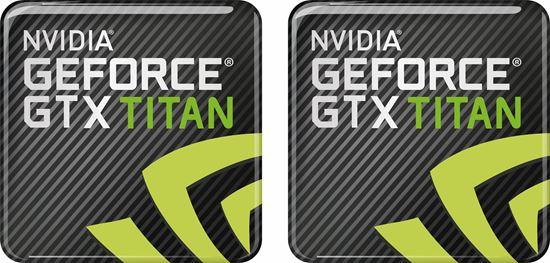 Picture of Nvidia GTX Titan Gel Badges